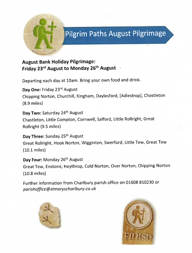 Pilgrim Paths August Bank Holiday Walk